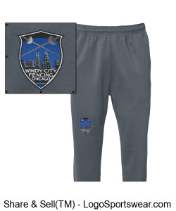 Adult Performance Jogger Design Zoom